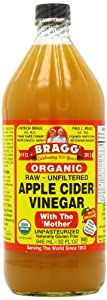 Bragg Apple Cider Vinegar Organic Raw -- 32 fl oz