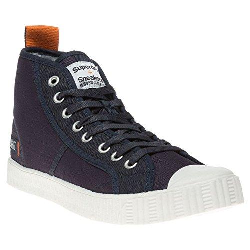 Superdry Super Sneaker High Uomo Sneaker Blu