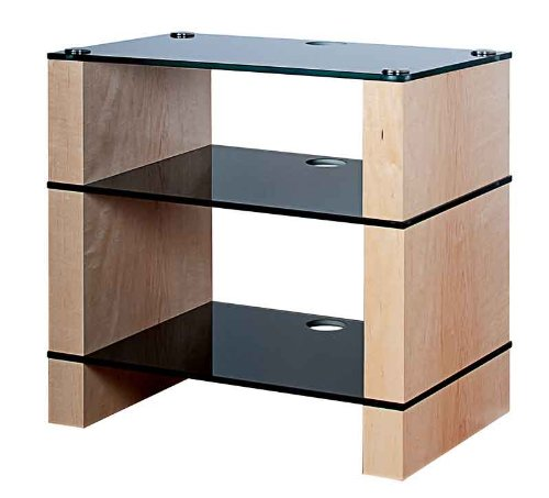 Cheap BLOK STAX DeLuxe 300 Three Shelf Maple Hifi Audio Stand & AV TV Furniture Rack Unit (B008AHJ4RK)