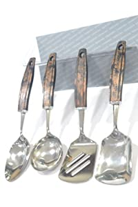 Fantasy Crystal Table Serving Set 4 Piece available at Amazon for Rs.388