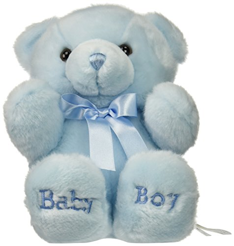 Aurora Plush Baby 10 inches  Comfy Blue Baby Boy Bear