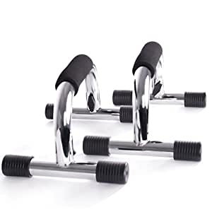 Physionics® LSGF01 Push Up Bar Grips 2pc Set