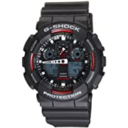 Casio Mens GA100-1A4 G-Shock X-Large Analog-Digital Black Dial Sports Watch