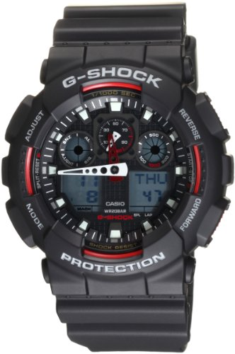 "Casio Men'S Ga100-1A4 ""G-Shock"" Sport Watch"