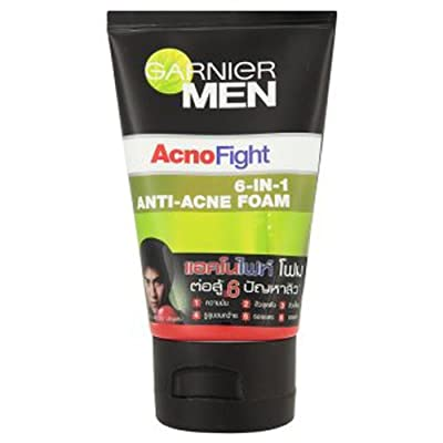 Best Cheap Deal for Garnier Men AcnoFight Anti Acne Scrub in Foam Facial Cleanser 100ml from ppmarket - Free 2 Day Shipping Available