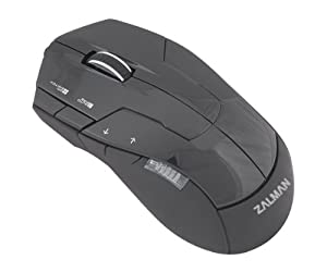 Zalman Optical 2500DPI 7 Multi-Button USB Gaming Mouse (ZM-M300)