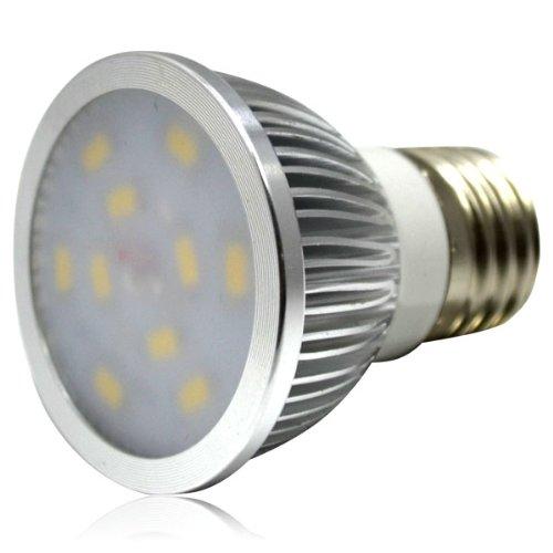 Freeshipping Zono Led Spot Light, 5W Ac 85-265V E27 Base 10 Smd 5730 Led Spot Lamp