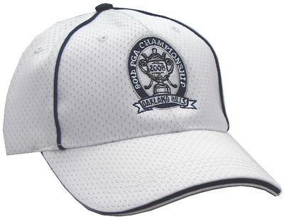 Ahead 2008 PGA Championship Structured Mesh Performance Cap - White/Navy - Buy Ahead 2008 PGA Championship Structured Mesh Performance Cap - White/Navy - Purchase Ahead 2008 PGA Championship Structured Mesh Performance Cap - White/Navy (Ahead, Ahead Hats, Womens Ahead Hats, Apparel, Departments, Accessories, Women's Accessories, Hats, Womens Structured Hats)
