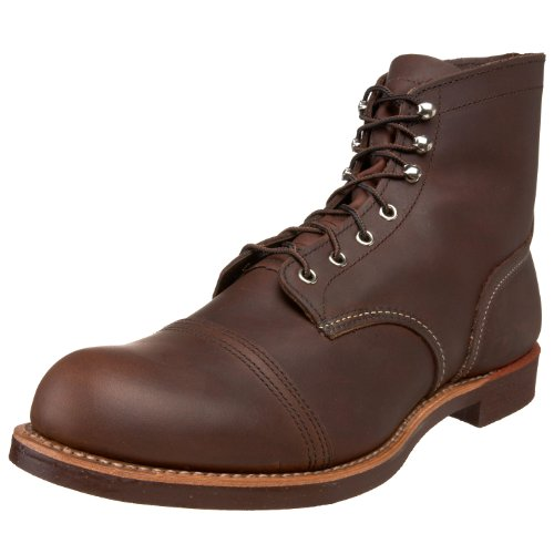 "Red Wing Heritage Iron Ranger 6"" Boot,Amber Harness,10.5 D(M) US"