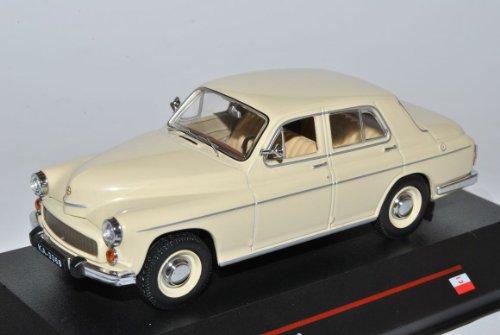 WaRSzawa 203 Limousine 1964 Beige Weiss IST 119 1/43 Ist Ixo Modell Auto