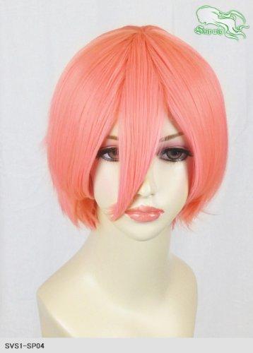 スキップウィッグ 魅せる シャープ 小顔に特化したコスプレアレンジウィッグ マニッシュショート ピンクグレープフルーツ