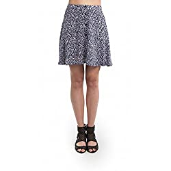 SbuyS Blue Buttoned Up Skirt