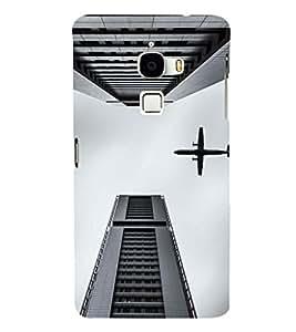 EPICCASE Flying between Scrapers Mobile Back Case Cover For LeTV Le Max (Designer Case)