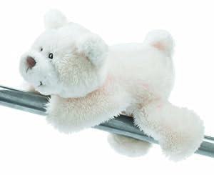 NICI Bear Lying Soft Toy MagNICI White 12 cm