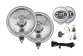HELLA 005750952 500 Series 12V/55W Halogen Driving Lamp Kit (Fun Cubed)