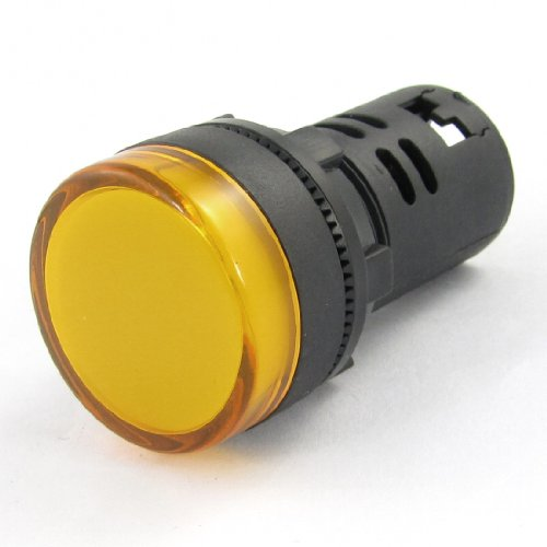 Ac/Dc 24V 20Ma Screws Connection Led Signals Light Lamp Yellow Ad16-22D/S