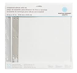 Martha Stewart Crafts 12-by-12-inch Album Refills