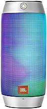 JBL 【国内正規品】PULSE2 マルチカラーLED搭載Bluetoothスピーカー 防水対応 ワイヤレスポータブル対応 シルバー JBLPULSE2SILJN