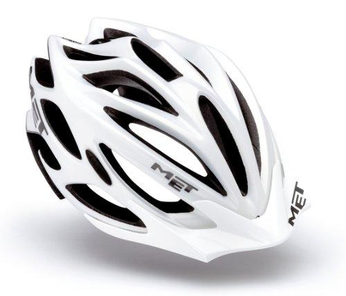 Blanc-silver brillant-Taille 57-61 cm M-L Cratoni-Evo-Couleur
