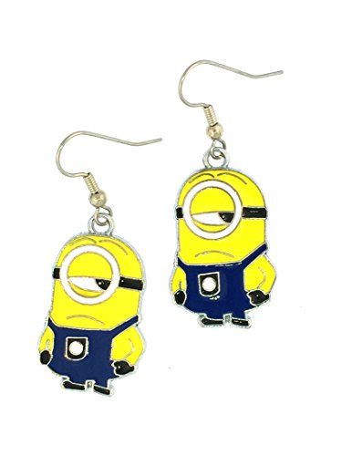 Minions Despicable Me Sly Stewart Earrings Jewelry (Minion Gru)