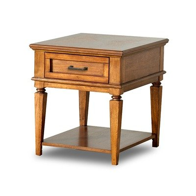 Image of Concord End Table in Contemporary Oak (747809ETBL)