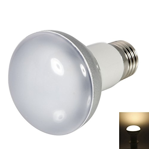 Ball Bulbs - R63 E27 6W 460Lm 3000K 80°Pure White Light Bulb (220-240V)