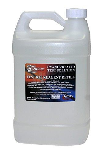 Blue Devil B7519 Cyanuric Acid Test, Gallon (128 oz) Bottle