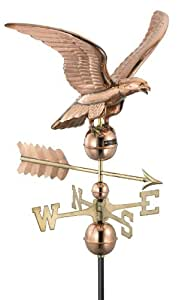 Good Directions 955P Smithsonian Eagle Weathervane, Polished Copper