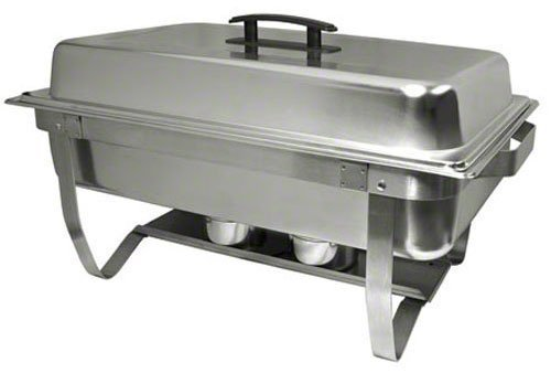 Update International (ESFC-21) 8 qt. Easy Store Folding Chafer