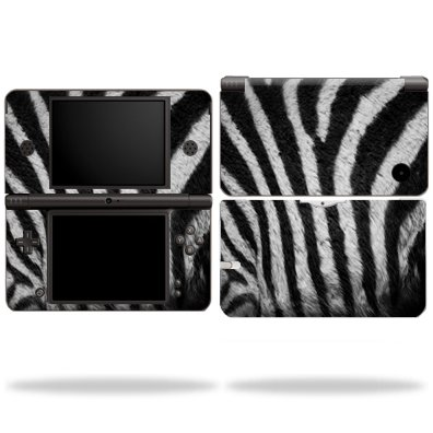 Protective Vinyl Skin Decal Cover for Nintendo DSi XL sticker skins Zebra