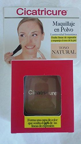 Cicatricure Maquillaje en Polvo Tono Natural (Maquillaje Natural compare prices)