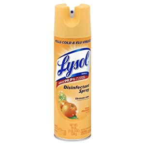 Lysol Disinfectant Spray, Citrus Meadows, 19 Ounce