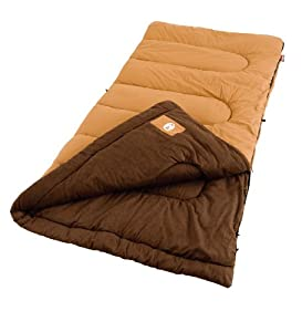 Coleman Dunnock Large Cold-Weather Sleeping Bag by Coleman