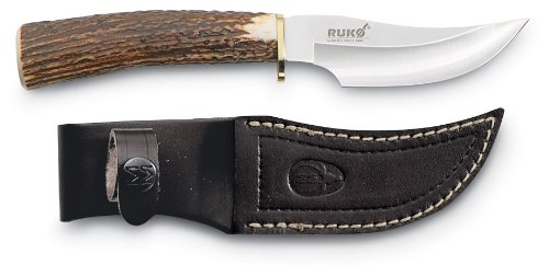 Muela Rolled Stag Skinner Knfe
