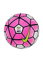 Nike Balón de Fútbol Pitch - Serie A (Fucsia / Blanco / Amarillo)