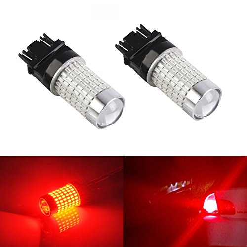 JDM ASTAR Extremely Bright 144-EX Chipsets 3057 3157 LED Bulbs with Projector ,Brilliant Red (96 Honda Accord Ex Tail Lights compare prices)