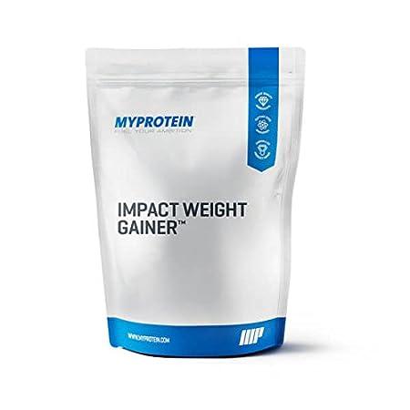 My Protein Impact Weight Gainer 2500 g Geschmacksneutral - Gewichtszunahme Kombination von Kohlenhydrate