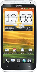 HTC One X 4G Android Phone, White (AT&T)