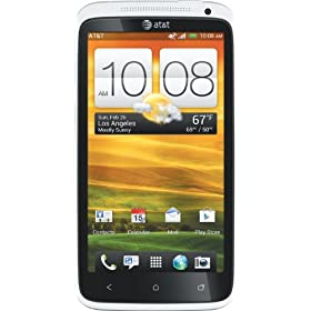 HTC One X 4G Android Phone, White (AT&amp;T)