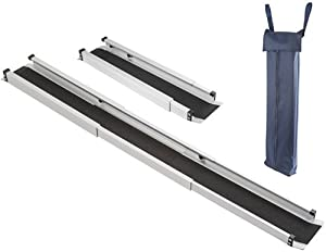 "29-60"" Adjustable Wheelchair Ramps with Carrying Case"
