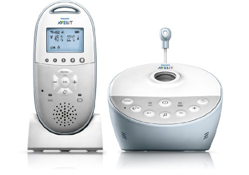 Philips Avent SCD580/00 Babyphone (Smart Eco Mode, Sternenhimmel-Projektor )