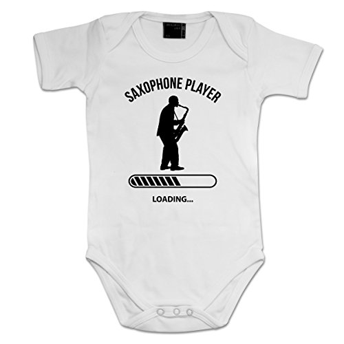 Saxophone-Player-Loading-Baby-Strampler-by-Shirtcity