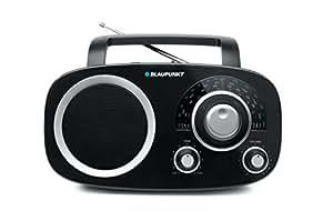 Blaupunkt BSA 8000 Radio Analogique de Table FM/MW/LW/SW Noir