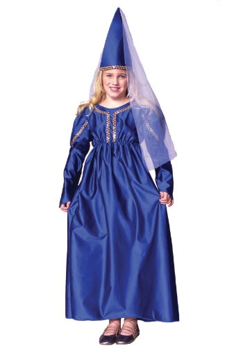 RG Costumes Blue Medieval Princess Costume