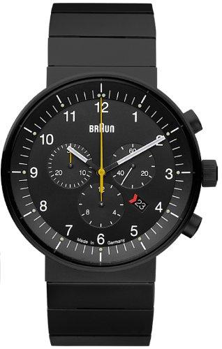 Braun BN0095 - Reloj (Reloj de pulsera, Acero inoxidable, Negro, 4.3 cm, 1.1 cm)