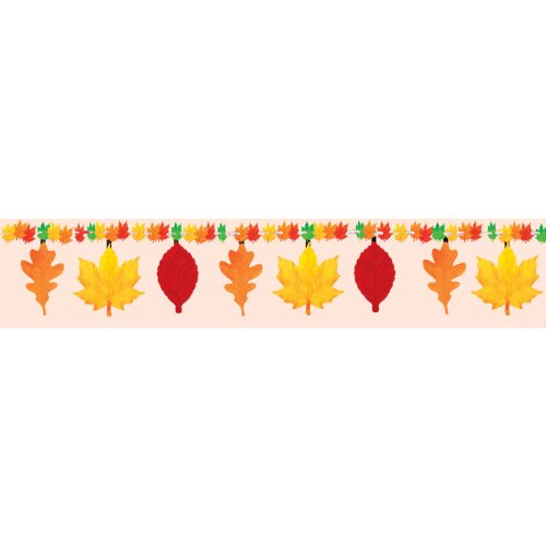 Autumn Leaves Garland 7 1/2ft