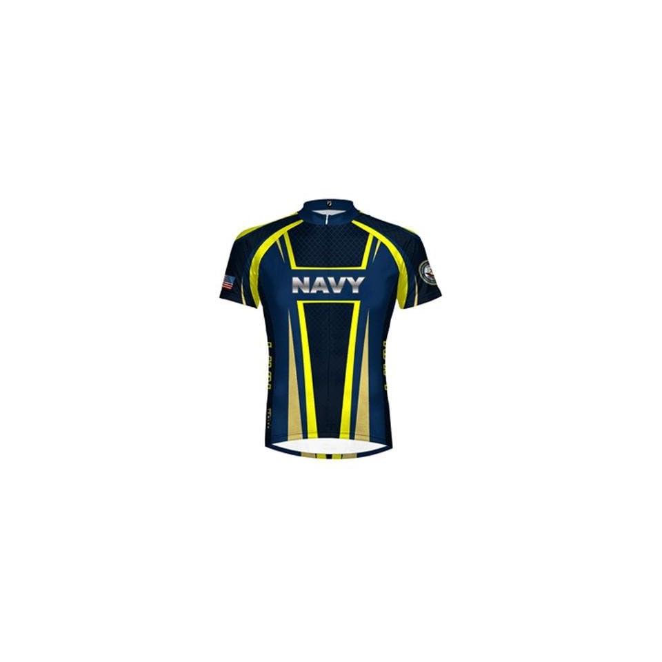 b48b1b140 Primal Wear Mens US Navy Military Short Sleeve Cycling Jersey NATNJ20M