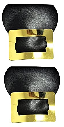 Shoe Buckles Colonial Gold Costume Accessory