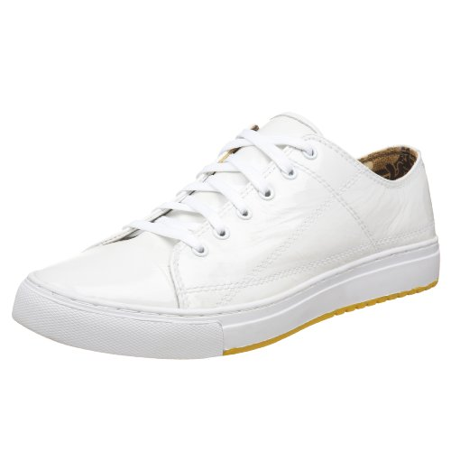 PF Flyers PM08PL1 Perrin Lo Sneaker,White,Men's 11.5 M/Women's 13 M