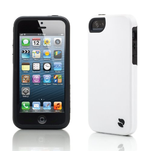 Innovez Eco Friendly Interchangeable iPhone 5 Case (White/Black)